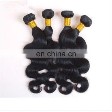 Top quality virgin malaysian hair bundles natural color body wave 100% real human hair