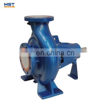 Common base mounted centrifugal pump for water