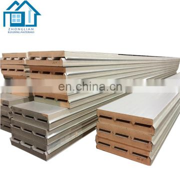 Pu sandwich panel for top quality external wallboard