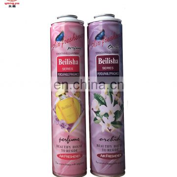 Utility diameter 52mm air frensher gas can empty aerosol can with paint for sale