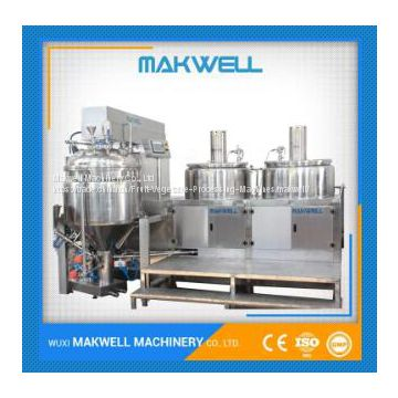 semi-auto face cream homogeneous mixer