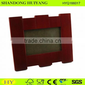 customized painting wooden photo frame on sale