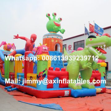 Cheap Price PVC Outdoor Inflatable Game Equipments,Giant Kids Dinosaur Inflatable Bouncer For Sale