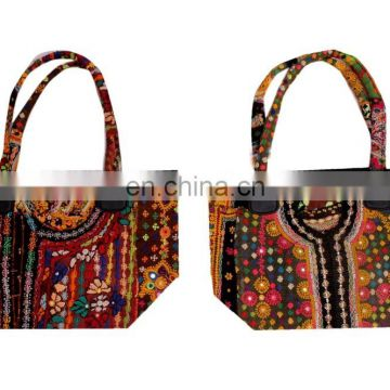 Indian Banjara Bag Vintage Hobo Sling Tote Ethnic Tribal Gypsy Hand embroidered Vintage shoulder bag purse tote wholesale
