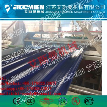 PVC anti-corrosive composite roofing tile machine