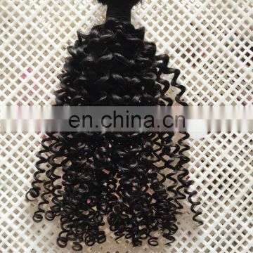 Hot sale top grade 8A remy raw unprocessed cambodian kinky curly hair weaves