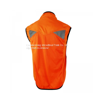 Hi Vis Orange Lightweight Vest