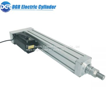 Shenzhen Factory Direct Sales High Quality Low Noise Support DMX512 Protocol Control Servo Linear Electric Cylinder