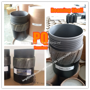Premium PQ reaming shell, impregnated diamond core drill bits & reamers, exploration drilling, rock coring, geotechnical drilling reaming shells