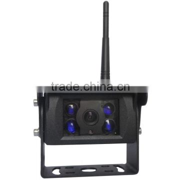 2.4GHz Digital Wireless Type IP69 Waterproof Infrared Night Vision DC12-32V Digital Wireless Trailer Camera for Forklift Truck