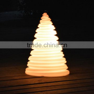 christmas ornaments led glowing tower lamp led christmas tree decorations usb rechargeable used indooroutdoor
