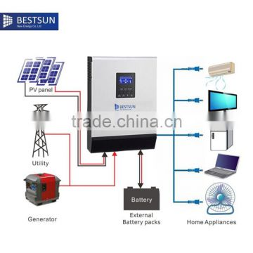 A.B.T BUETSUN Solar System Price For Home Use High Efficiency 4KW Off Grid Solar Power System Home USE