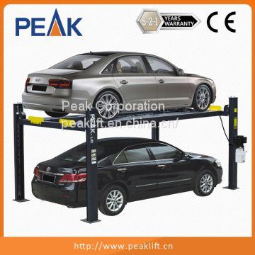 Commercial Grade 4 Post Garage Equipment Car Parking Lift 408 P Of