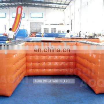 Hottest inflatable paintball sports wall