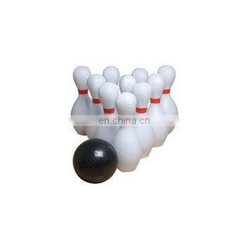 Giant Inflatable Bowling Ball & Pins Set