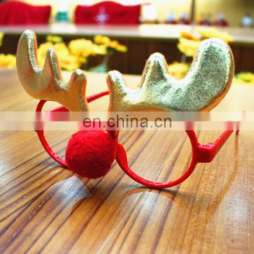 2017 Christmas Ornaments Glasses Frames Decor Evening Party Toy for Kids Adult