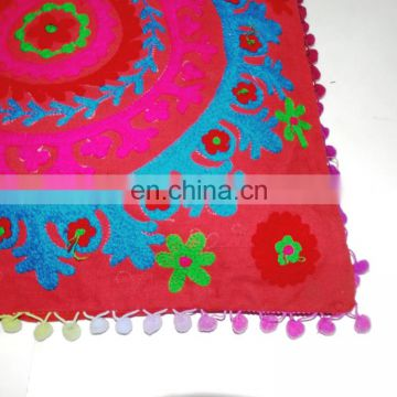 online shopping india Exclusive sale Handmade suzani Cushion cover Indian hand embroidery cushion cover_SCC-4