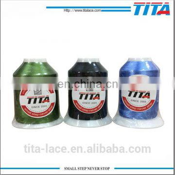 Polyester material machine embroidery thread 3000m eco-friendly 120D/2