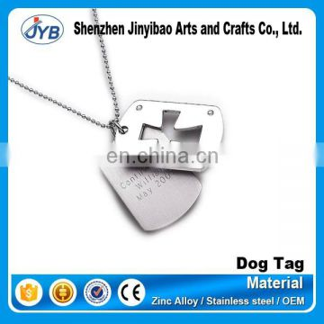 custom couple scrolling dog tag christian for wholesale