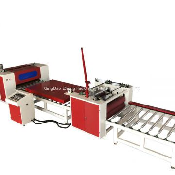 high gloss PVC film PET PUR laminating machine with automatic loading automatic end cutting