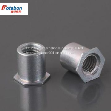Size: SOA-440-20 Nuts 1000pcs SOA-440-4//6//8//10//12//14//16//18//20//22//24 Thru-Hole Threaded Standoffs Aluminum PEM Standard Factory Wholesales