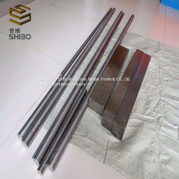 forging and sintering  99.95% Moly bars molybdenum rod