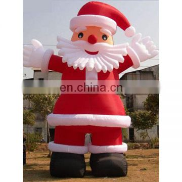 2018 giant inflatable santa claus for christmas