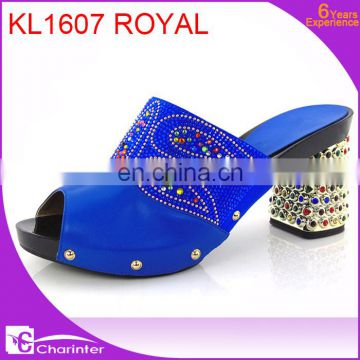 high heel ladies shoes slipper new design ladies shoes slipper