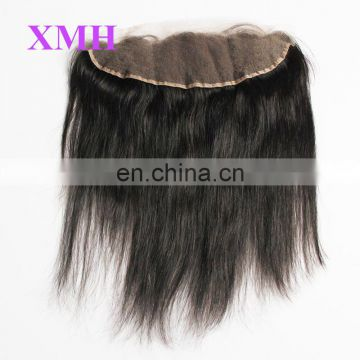 Best quality hair virgin brazilian and peruvian hair brazilian lace frontal closure 13x4