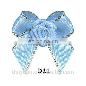 Bottleneck Decoration Satin Ribbon Package Ribbon Bow with Elastic Loop