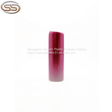 Gradient Pink 80ml Plastic Cosmetic Toner Spray Bottle For Skin Care