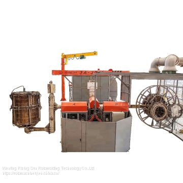 Rising Sun rotational moulding machine 2 arms/3 arms/4 arms rotomolding machinery