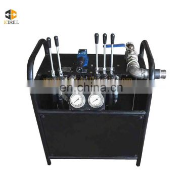 New design moveable type anchor engineering drilling screw piles machine made in China