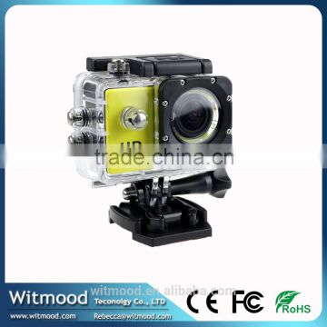 Waterproof Sports Dv Recorder With wide-angle lens Sj4000 A8 Action Camera Full Hd 720p 1.5 Inch Car Dvr H.264 5 Mega Sports Cam