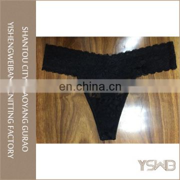 Fashion design comfortable t-back panty woman sexy cute lace thong