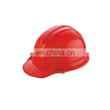 red hard Warning Safety hat