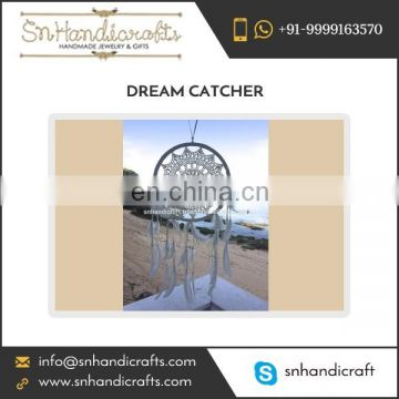 Excellent Quality Handmade Crochet Dream Catcher at Nominal Coat