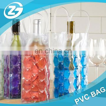 PVC Cool Sacks Refrigerated Gel Wine Bags