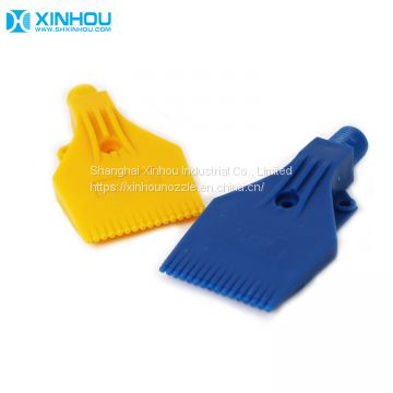 Compressed drying plastic abs windjet air blowing off nozzle
