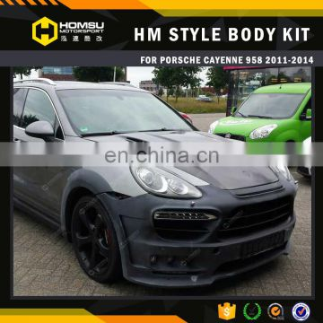 Best price!! car part auto pack cayenn 958 HM wide body kit/ body kit for cayenn-e 958