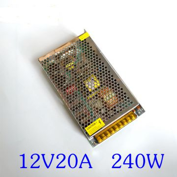 DC12V5a/10A/15A/20A/30A Centralized Metal Power Supply for CCTV