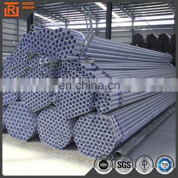 carbon steel round pipe 48.3mm galvanized steel tube