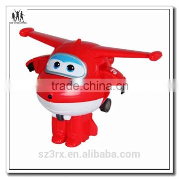Electronic remote control cartoon airplane model toy for baby kids custom make