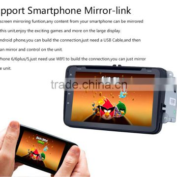 2 din Quad core Android car gps dvd player for VW skoda