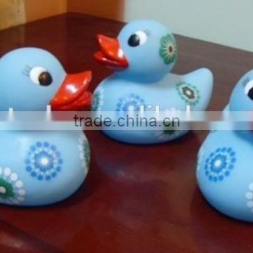 High quality flower printed soft PVC baby tub floating duck