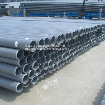 UPVC grey drainage water pipes of PVC pipe/tube from China