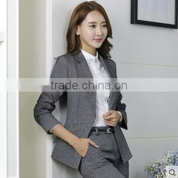 Custom 2017 Business Shirt Women Formal Suit Elegant Women Pants