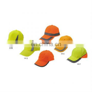 High Sales volume High Visibility protective reflective Safety Sports Hat/cap