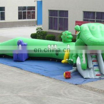AOQI products selling well unique inflatable lizard crawl tunnel AQ2018 for sale