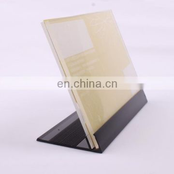 BSCI Customized Size Acrylic Menu Display Stand